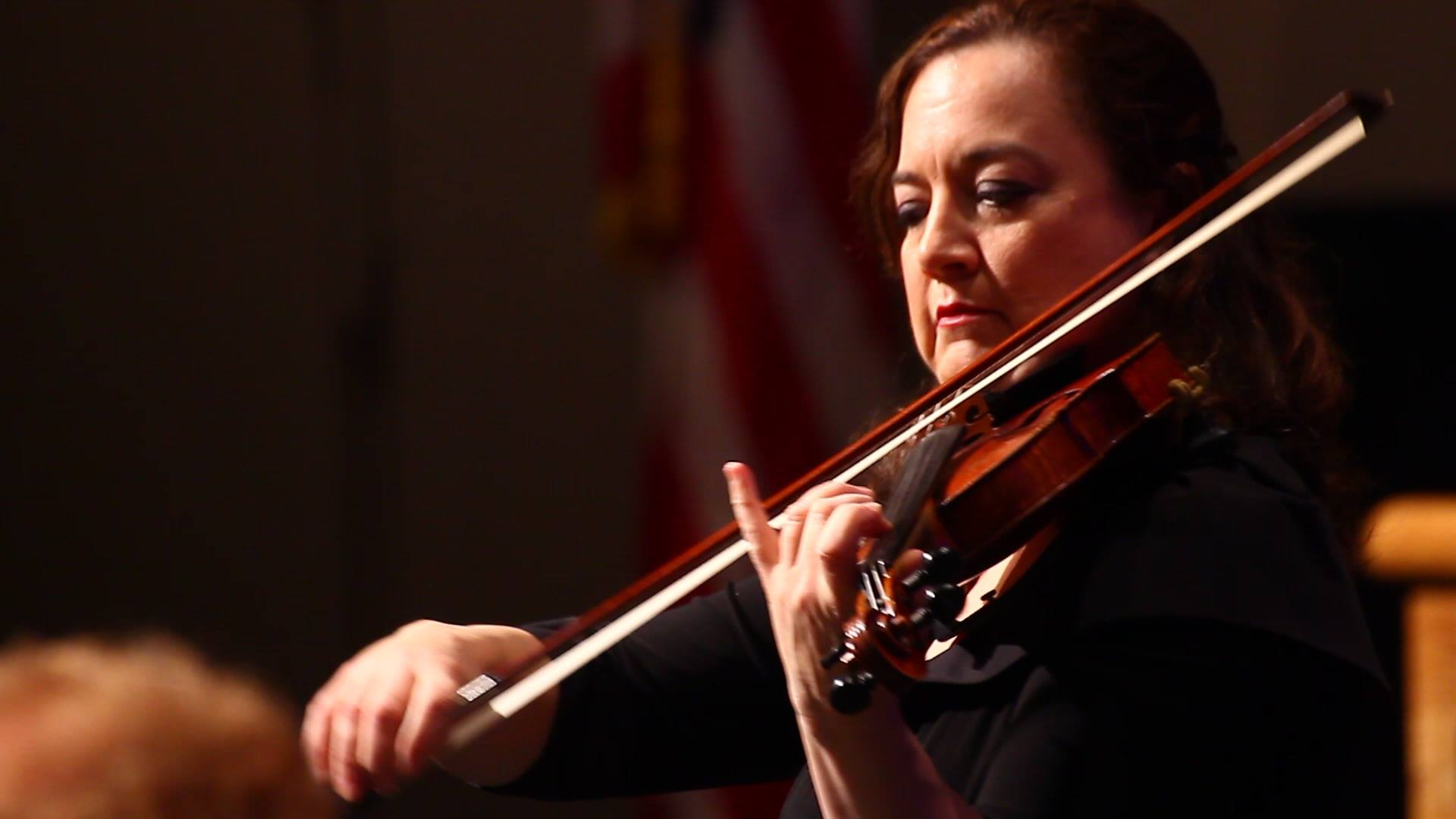 Q & A with Lisa Ferrigno, BSO Concertmaster