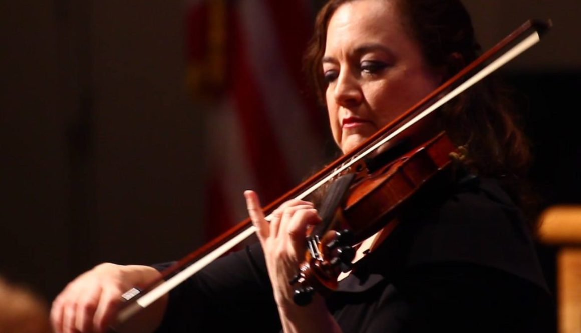 BSO ConcertMaster Lisa Ferrigno - PHOTO CREDIT DEREK SUOMI
