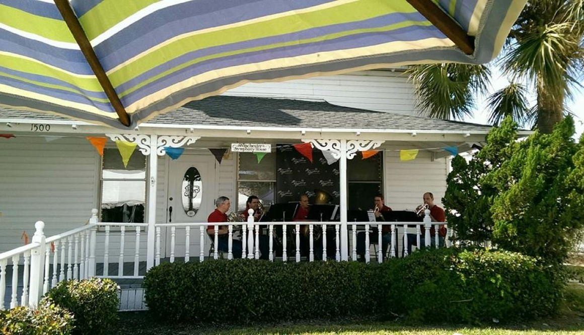 BSO Brass Quintet LIVE on The Porch!